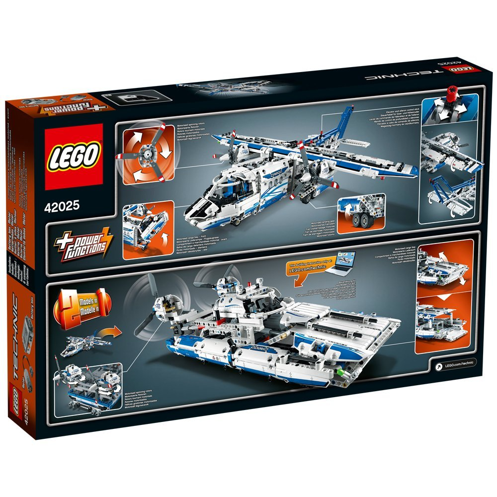 レゴ テクニックの 飛行機42025 を最安値で購入するならここ